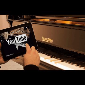 Pianodisc iPad controlled