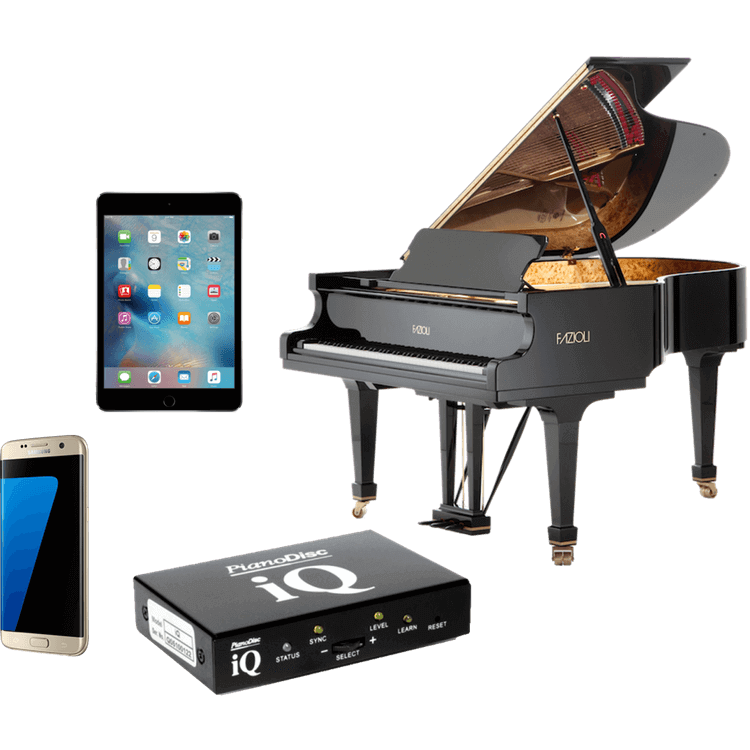 PianoDisc iQ player systems