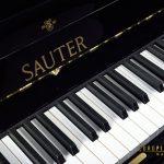 Sauter Black Upright piano