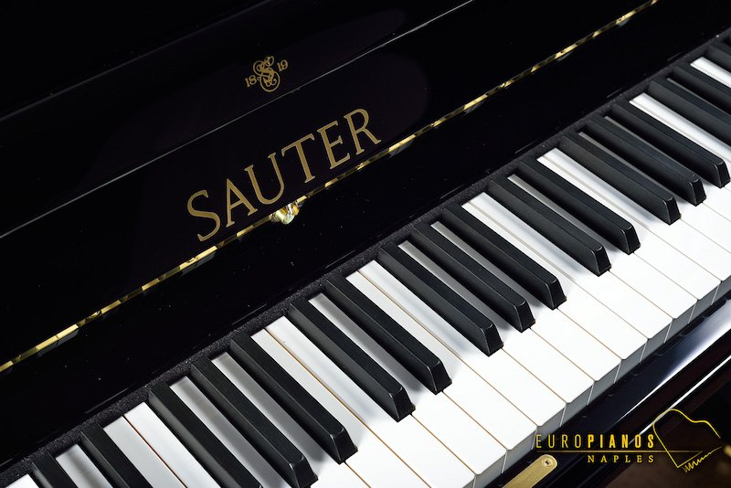 Sauter Black Upright piano