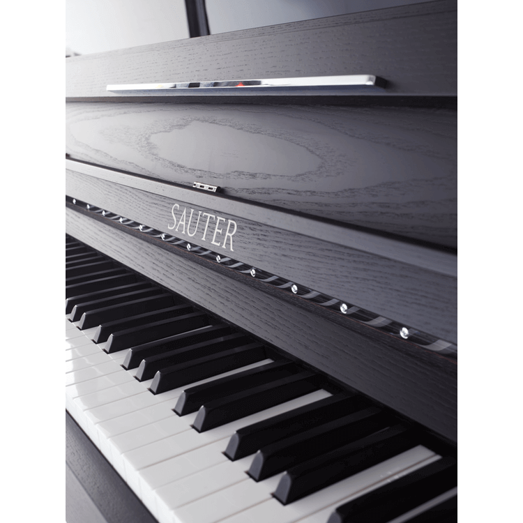Sauter upright piano with Matt fallboard