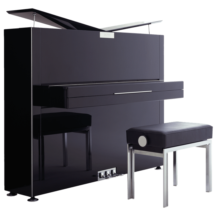 Sauter Pure Ebony Upright Piano