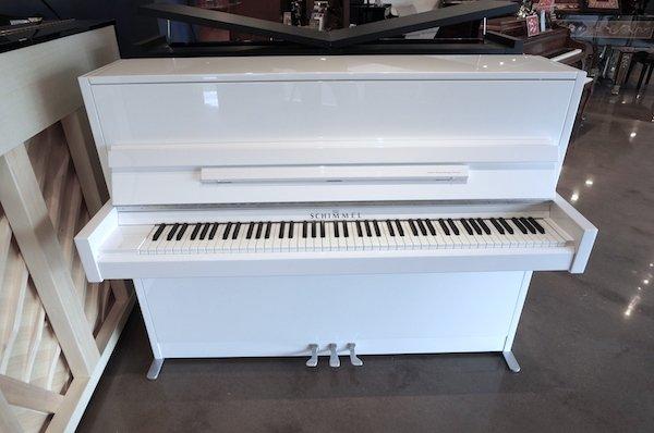 modern Schimmel upright piano