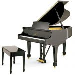 Steinway & Sons Model S baby grand
