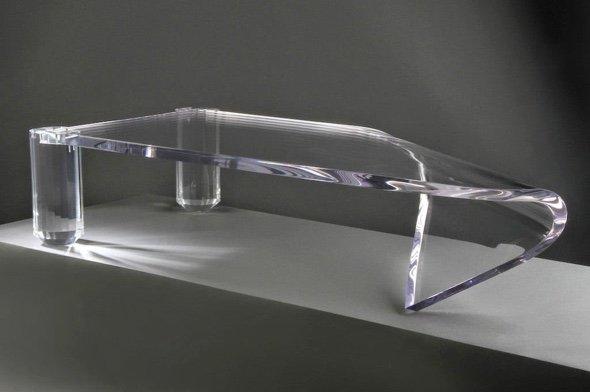 Transparent table