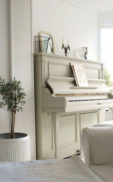 white upright pianos still popular