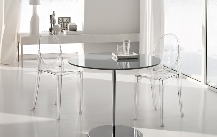 use of acrylic furniture in interior design