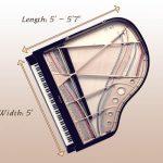 baby grand piano dimensions - measuring a piano