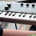digial piano keyboard