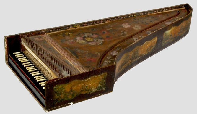 Harpsichord by Nicolas Dufour, Paris 1683