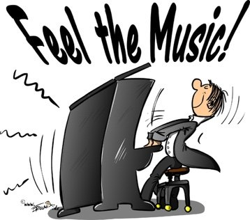 feel the music graphic
