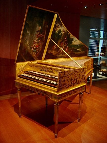 Harpsichord by Ruckers 1646