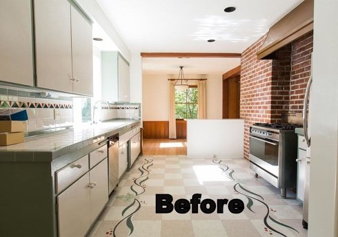 interior space before decorating