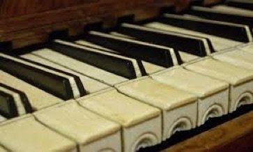 ivory piano keys