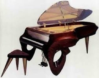 unique piano