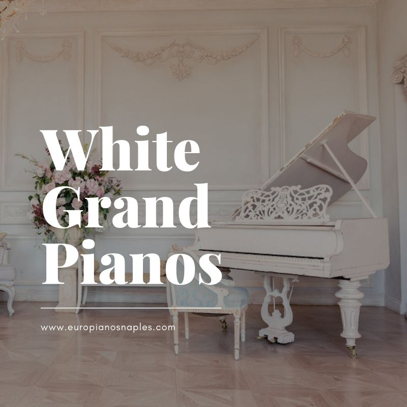 White Grand Pianos - Has the trend changed?