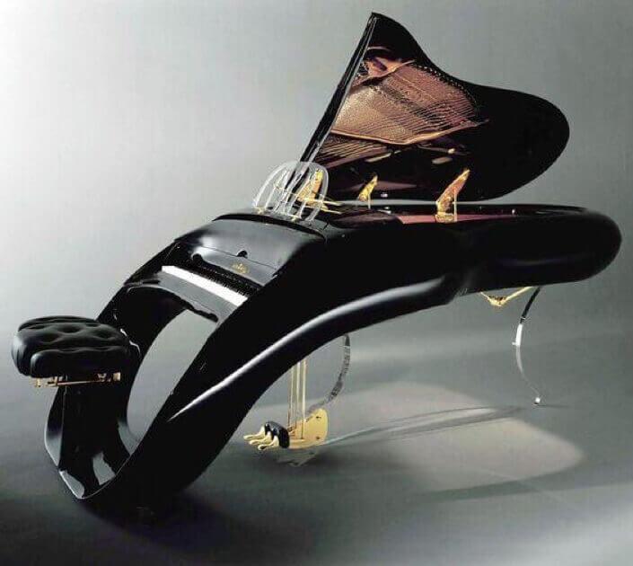 contemporary grand piano