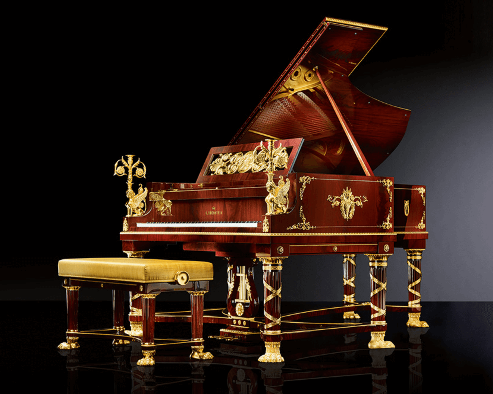 C.Bechstein Sphinx expensive Grand Piano