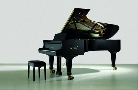 Concert grands are only produced by the finest and most experienced manufacturers, often in very small quantities such as only 10 to 100 a year from any particular brand. They can cost up to $300,000 for stately black models, and even more for those with piano cases having elaborate wood-work, inlays, custom colors and fancy veneers—which in today's marketplace, are getting attention and lauded like never before by interior designers. But in spite of the magnificent assortment of exterior cases, the interior is the heart of the concert grand piano and its performance values. There are thousands of parts, and it is the quality of the manufacturing and materials of these parts and the expertise of the assemblage of them that makes one concert grand outdistance another. For this reason alone, it behooves people to listen. To truly appreciate the value and magic of a concert grand, you must hear it played in the proper setting.