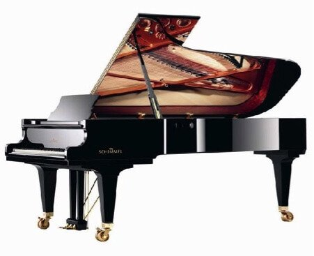 Manufacturers of mass-produced, lower-price pianos seldom make concert grands, because concert halls or professional pianists would be unwilling to buy such a piano from a name with the reputation of a budget brand.  The companies that make concert grands have a tradition of hand-craftsmanship and many of them have enjoyed top reputations for almost 200 years. An exception to this is Fazioli. Several of the companies have been owned and operated by the same families since they were started in the early 1800's, and have a very prestigious image in the piano world.  Sauter concert grands and Schimmel Konzert grands (their top line) enjoy this renown along with August Forester, Bechstein, and Bluthner, Bosendorfer, Steingraeber, Grotrian and the Steinways coming from Germany (not New York).