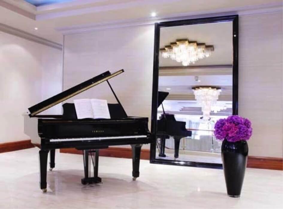 Piano in Westbury Hotel in Dublin