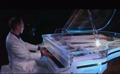 Bluthner Lucid Piano with LED lights