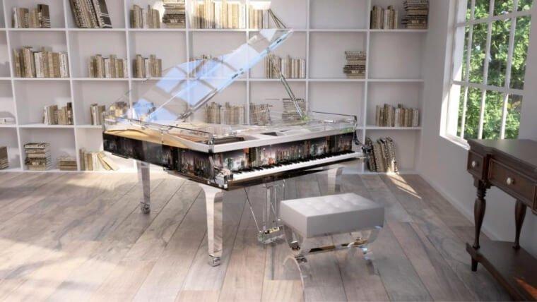 A Clear Choice – Transparent Pianos