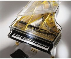 Schimmel transparent piano