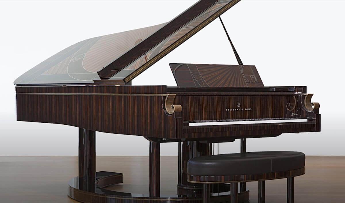 Steinway fibonacci Historic Piano