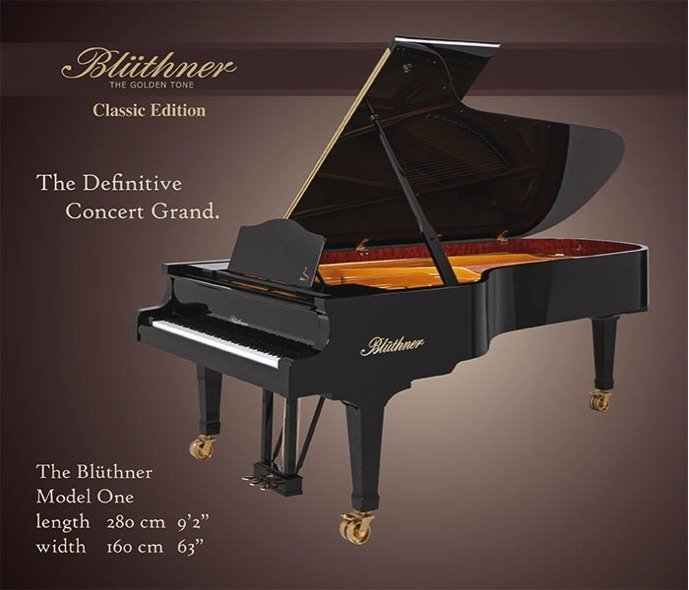 bluthner piano brochure