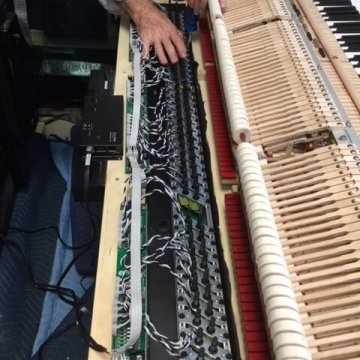 installing pianodisc system in Naples