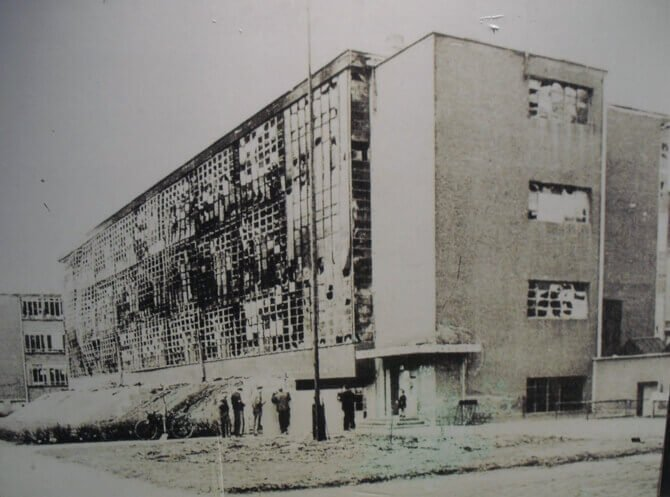 Bauhaus buildings in Germany