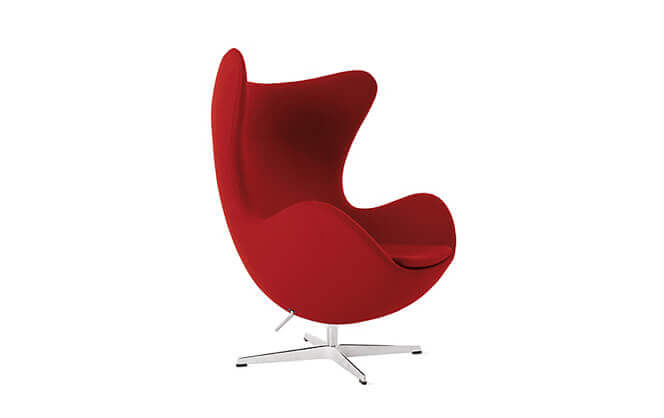 Egg chair by Arne Jacobsen 1958