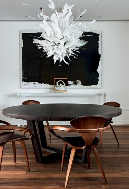 Mid century moder dining table