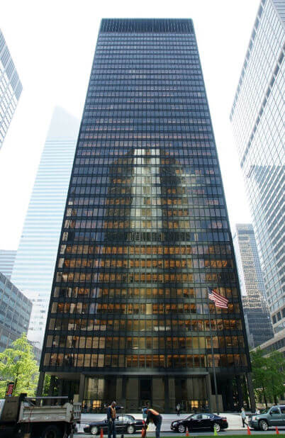 Modern architecture in New York