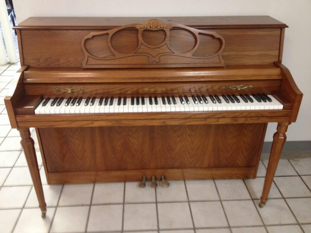 Wurlitzer Console Piano