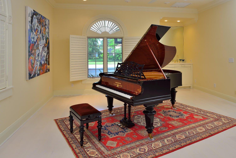 Bechstein art case grand piano