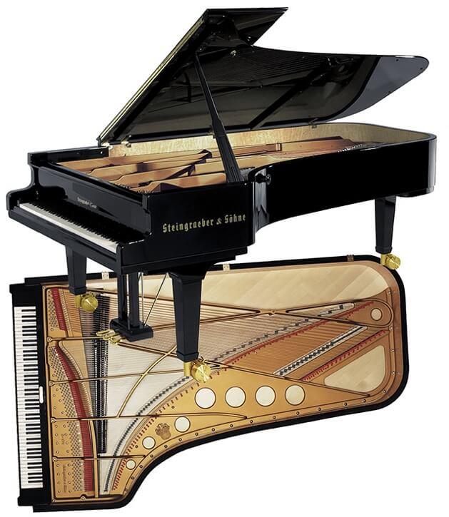"The 8' 11"" model E-272 concert grand"