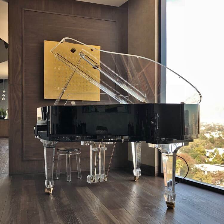 Aire Acrylic Baby Grand Piano