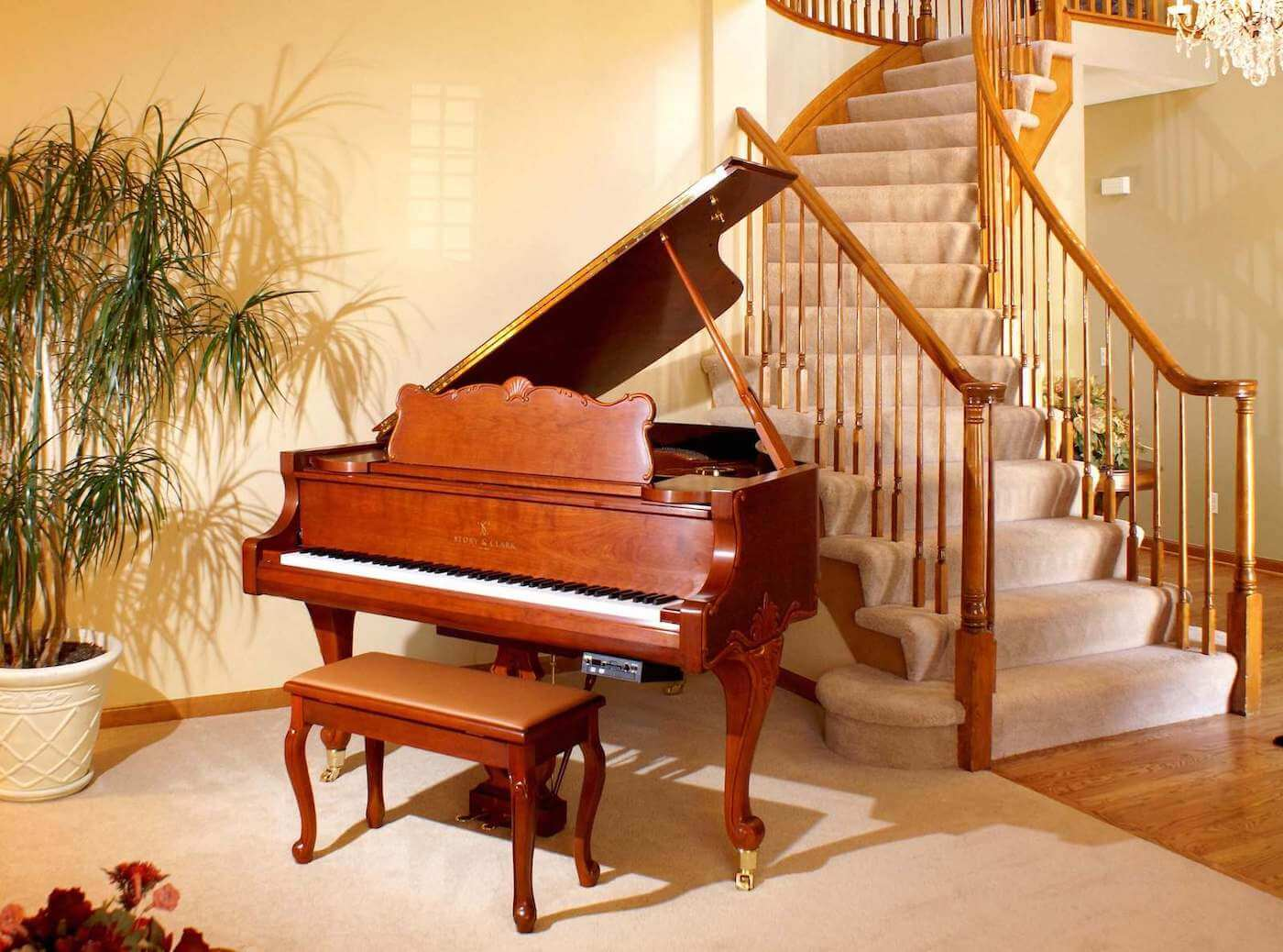 Piano under the stairs_25