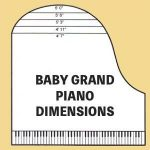 how big is a baby grand piano