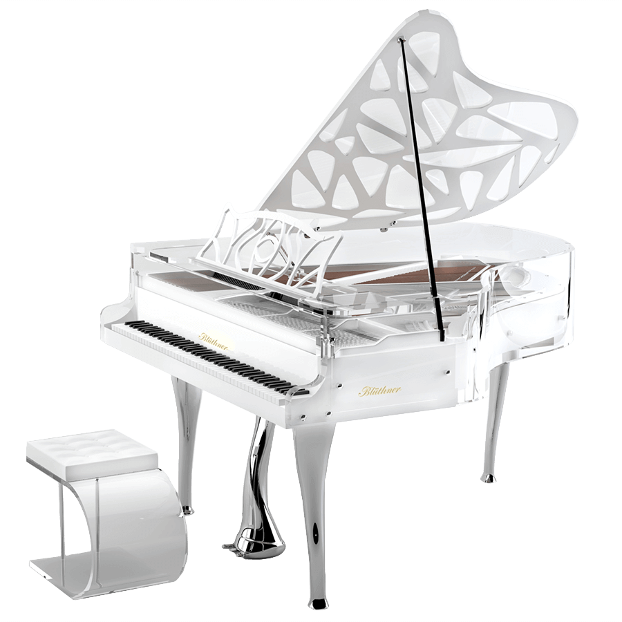 Bluthner Lucid Hive Elegance Acrylic Piano