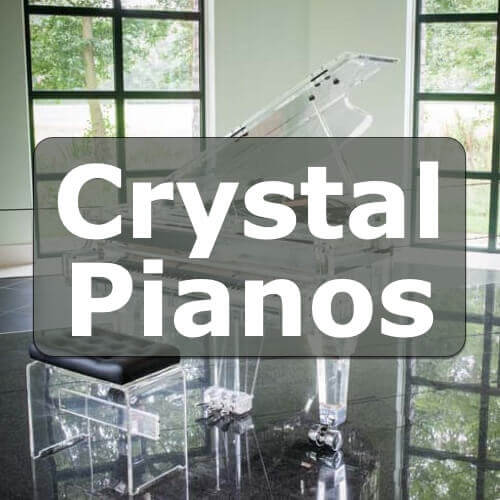 Crystal Pianos:  Are They Really Made Out Of Crystals?