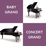 baby grand vs concert grand