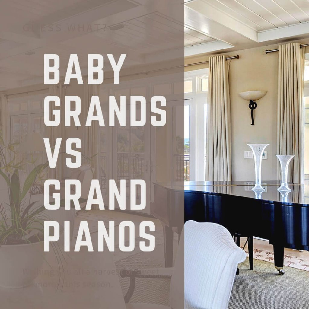 Baby Grands Vs Grand Pianos