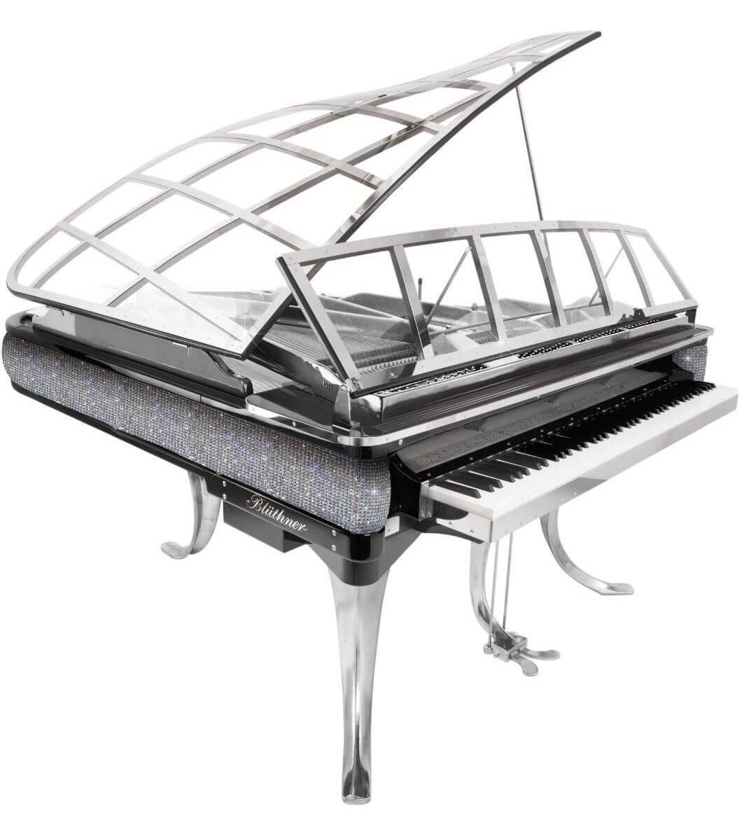 Bluthner ph swarovski crystal piano