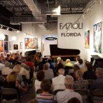 Concerts at Euro Pianos Naples on a Fazioli piano