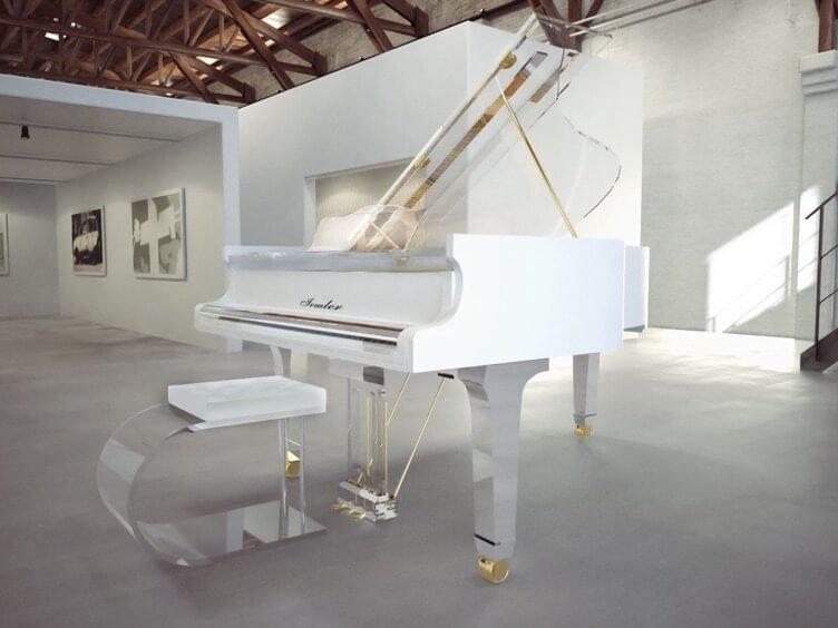 Haessler Acrylic Pianos – A Well Kept Secret And A Family Affair