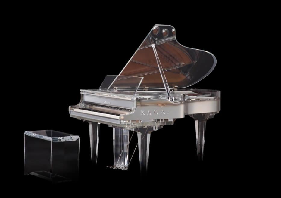 Crystal Rain – Presents The Kawai Crystal Grand Piano