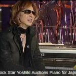 Rock star Yoshiki auctions a piano